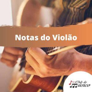 Notas acordes Violão
